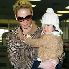 Actress Katherine Heigl adopted her first child Naleigh through international adoption in South Korea.  She then adopted a second child, Adalaide, through domestic adoption in 2012.  Heigl understood the importance of adoption from an early age because her sister Margaret Leigh was adopted from Korea.
