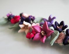 Hey, I found this really awesome Etsy listing at https://www.etsy.com/listing/12838670/summer-flower-garden-bracelet-polymer