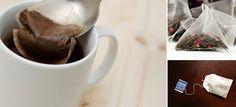 10 formas en las que puedes volver a utilizar tus bolsitas de té
