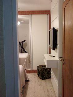 quarto casal apartamento laranjeiras - marcenaria