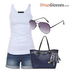 Add #Sunglasses To What You Wear. Look cool in this sultry heat with this awesome pair. Check out at: http://tinyurl.com/ml7kmez