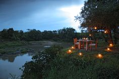 Naibor camp is situated on the board of the river – romantic getaway