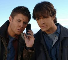 Supernatural - Sam And Dean - the demons are calling!