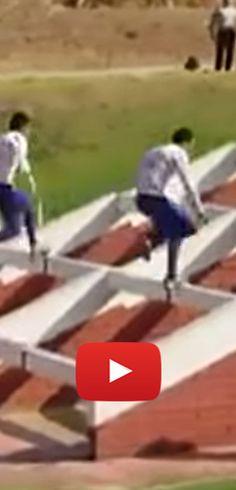 Époustouflante course à obstacles au Chili. http://rienquedugratuit.ca/videos/epoustouflante-course-a-obstacles-au-chili/