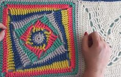 Wonky Granny Squares with a Twist + Tutorial