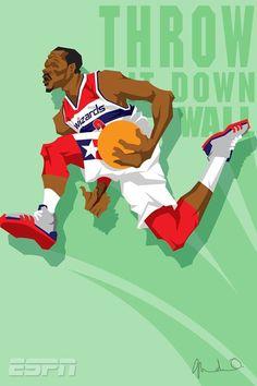 Slam Dunk Contestants 'Throw It Down' Caricature Art