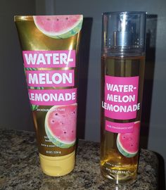Jan 2020 - Brand new bath and body works watermelon lemonade lotion and body spray. Both it… Brand new bath and body works watermelon lemonade lotion and body spray. Both items are the large size. Victorias Secret Perfume, Victoria Secret Fragrances, Bath & Body Works, Bath N Body, Kit Perfume, Bath And Body Works Perfume, Bath And Bodyworks, Body Mist, Smell Good