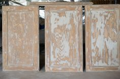 Getting Rid of Wood Grain on Cabinet Doors-Painted furniture or kitchen cabinets. Getting Rid of W Oak Kitchen Cabinets, Kitchen Cabinet Doors, Wood Cabinets, Refinished Cabinets, Repainting Cabinets, Restroom Cabinets, Cabinet Drawers, Painted Doors, Wood Doors