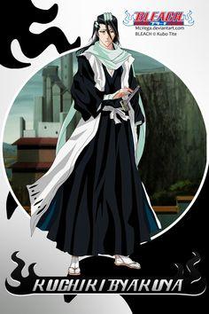 Byakuya Kuchiki bleach