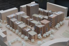Allies and Morrison Architecture Models, Urban Planning, Table Decorations, Projects, Home Decor, Mockup, Log Projects, Blue Prints, Decoration Home