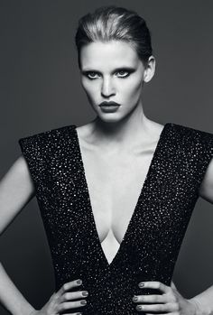 the accidental supermodel: lara stone by erik torstensson for industrie #7