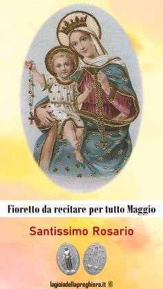 Come si recita il ROSARIO, le benedizioni e i benefici che si ottengono recitandolo. - La gioia della preghiera Decorative Plates, Rosaries