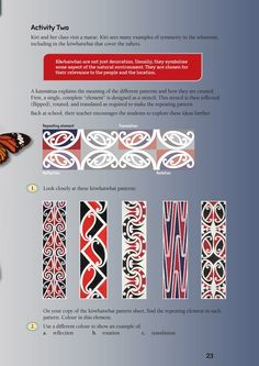 This is a level 3 activity from the Figure It Out series.A PDF of the student activity is included. Maori Patterns, Ethnic Patterns, Weaving Patterns, Metal Sculptures, Bronze Sculpture, Wood Sculpture, Fibonacci Tattoo, Polynesian Art, Collaborative Art Projects