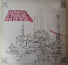 Verita's Sound And Vision: Vinil Inglês Pink Floyd Relics - Reedição Selo Ver...