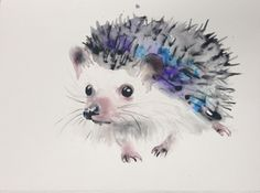 ARTFINDER: Hedgehog by Kristina Brozicevic -