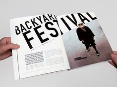 Cool editorial design.                                                                                                                                                                                 More