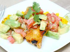 Delicious and light recipe for cilantro lime chicken, LOVE her recipe!!