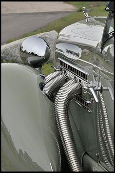 S136 1936 Auburn 852 SC Boattail Speedster Photo 11