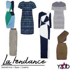 REPORTE #YZAB TENDENCIAS 2014 Estampados: Geométricos Vestir con este tipo de print, que generalmente lleva colores, es arriesgado pero hará que seas inolvidable. Sólo procura combinarlo con accesorios minimalistas; zapatos nude, negros o de otros colores neutros y con otras prendas de vestir pero unicolor. Inspírate con más tendencias para 2014 en www.yzab.com.ve #YZAB #ESTÉTICA #Estilo #Tendencias #EstilismoEspiritual