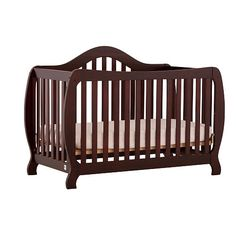 Stork Craft Monza I Fixed Side Convertible Crib - Cherry