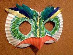 kreativ basteln kinder maske