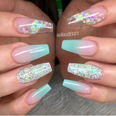 8 Amazing Pastel Nail Colors Acrylic Designs Only for you : Have a look! If you are looking for a useful suggestion for your claws, you should take a look at the collection where we have got 8 Amazing Pastel Nail Colors Acrylic Designs Only for you. Clear Nail Designs, Acrylic Nail Designs, Nail Art Designs, Cute Nails, Pretty Nails, Hair And Nails, My Nails, Bling Nails, Clear Nails