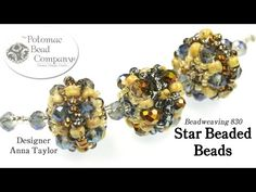 Star Beaded Beads  ~ Seed Bead Tutorials