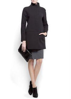 Minimal style coat