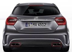 A45 AMG rear view