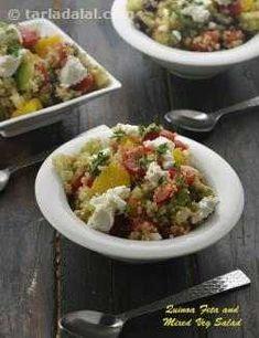 200 Indian Salads with Dressing Recipes, Veg Salad with Dressing Healthy Thai Recipes, Parsley Recipes, Vegetable Salad Recipes, Veg Recipes, Lunch Recipes, Indian Food Recipes, Cooking Recipes, Ethnic Recipes, Vegetarian Recipes