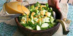 15 delicious sauces to prepare a salad for the fabulous banquet table - STEFANİE Banquet Tables, Homemade Beauty Products, Celery, Cobb Salad, Health Tips, Health Fitness, Food And Drink, Vegetables, Ethnic Recipes