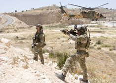 USAF special operators provide security of a landing zone in support of Eager Lion 2017 Amman Jordan May 11 2017 [53513822]