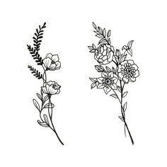 Image result for wildflower tattoos