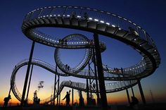 Tiger and Turtle -- Magic Mountain, in Germany