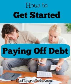 Are you ready to get serious about paying off debt but don't know where to start? Here are the important basic steps for how to get started paying off debt. debt management, debt payoff #debt