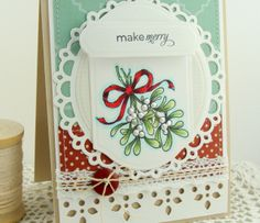 Flourishes | Exclusive Clear Polymer Stamps | Make Merry