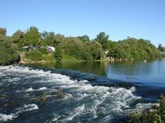 Familiärer Campingplatz umgeben von viel Grün, Am Fluss 'Der HiRes' Freude am Angeln und Schwimmen und Kanu fahren, kleinen, privaten Zugang zum Strand.…