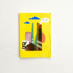 high rise collage zine - Honey Clarke | design studio in Amsterdam