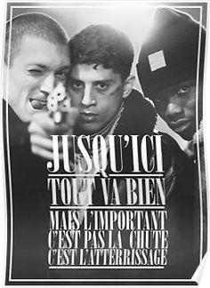 'La Haine ' Canvas Print by Framed Prints, Poster Prints, Canvas Prints, Posters, Card Sizes, Sell Your Art, Greeting Cards, Ap French, Envelope