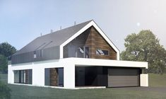 House project for the fx - sho - Dom - ready construction cost Farm Shed, Gable House, Roof Architecture, Modular Homes, Beautiful Interiors, Home Projects, Modern Farmhouse, Building A House, House Plans