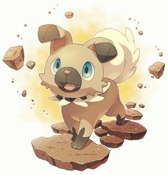 #744 Rockruff Pokemon Sun and moon. I want it. Kawaii!