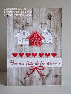 Les Ateliers de Val: Quelques nouveautés - Su - You Brighten My Day SAB stamp… Welcome Home Cards, New Home Cards, Housewarming Card, Sympathy Cards, Valentine Day Cards, Greeting Cards Handmade, Stampin Up Cards, Making Ideas, Cardmaking