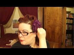 Victory Rolls with a Twist: A Vintage Hair Tutorial