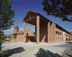 Katholisches Gemeindezentrum Köln-Blumenberg in Köln, Architektur, Architektur - baukunst-nrw