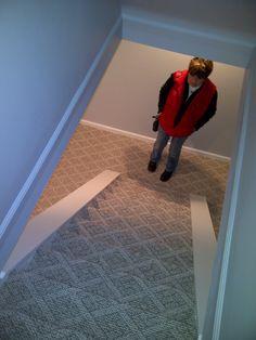 Beaulieu South Hampton, berber carpet installed in Madeira, Ohio basement