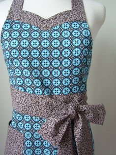 Apron Pattern PDF Women's Full and Half   by ModernVintageDesigns, $8.00