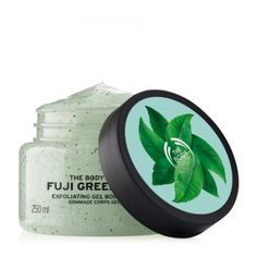Fuji Green Tea Body Scrub fra The Body Shop, salgspris kr 149,- (originalpris 219,-)