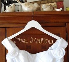 Summer Bride? Here's How You Can Feel Like A Princess On Your Wedding Day!:  Get a Wire Hanger