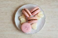 Macarons cu ciocolata alba – metoda frantuzeasca