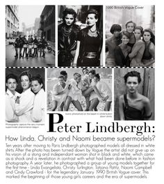 """Peter Lindbergh: A Different Vision On Fashion Photography"" by the-amj ❤ liked on Polyvore"